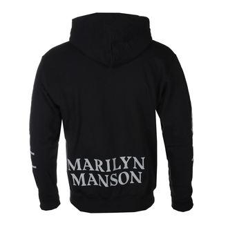 Herren Hoodie Marilyn Manson - Cross - ROCK OFF, ROCK OFF, Marilyn Manson