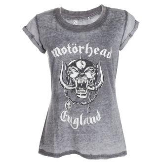 Damen T-Shirt Metal Motörhead - England BO - ROCK OFF, ROCK OFF, Motörhead