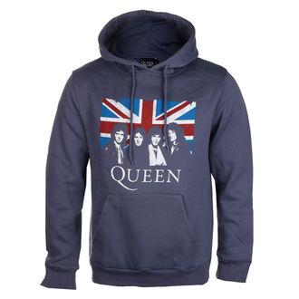Herren Hoodie Queen - Vintage Union Jack - ROCK OFF, ROCK OFF, Queen