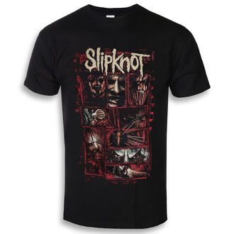 Herren T-Shirt Metal Slipknot - Sketch Boxes - ROCK OFF, ROCK OFF, Slipknot