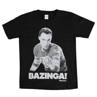 Kinder T-Shirt Film The Big Bang Theory - Sheldon Sagt BAZINGA! - HYBRIS, HYBRIS, Teorie velkého třesku