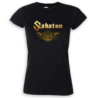 Damen T-Shirt Metal Sabaton - Carolus rex platin - NUCLEAR BLAST, NUCLEAR BLAST, Sabaton