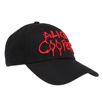 Kappe Cap Alice Cooper - Dripping Logo - ROCK OFF, ROCK OFF, Alice Cooper