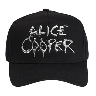 Kappe Cap Alice Cooper - Sonic Sliver Dripping Logo - ROCK OFF, ROCK OFF, Alice Cooper