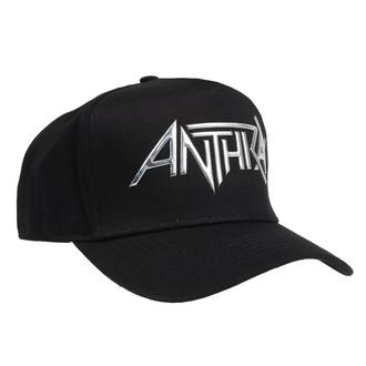 Kappe Cap Anthrax - Sonic Sliver Logo - ROCK OFF, ROCK OFF, Anthrax