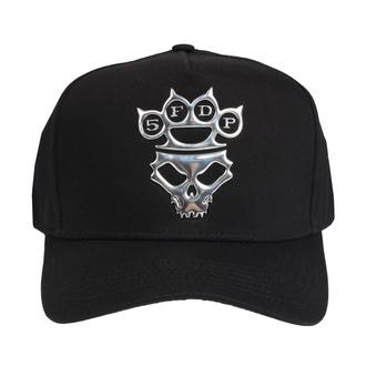 Kappe Cap Five Finger Death Punch - Sonic Sliver Logo - ROCK OFF, ROCK OFF, Five Finger Death Punch