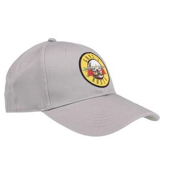 Kappe Cap Guns N' Roses - Circle Logo - GRAU - ROCK OFF, ROCK OFF, Guns N' Roses