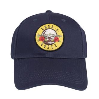 Kappe Cap Guns N' Roses - Circle Logo - MARINE - ROCK OFF, ROCK OFF, Guns N' Roses