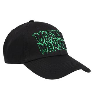 Kappe Cap Marilyn Manson - Logo - ROCK OFF, ROCK OFF, Marilyn Manson