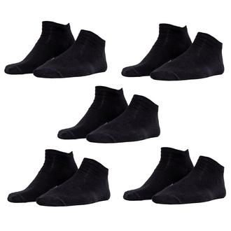Socken (5er Pack) URBAN CLASSICS - Logo No Show - TB2157-black