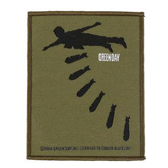 Patch Aufnäher Day - Bombs - RAZAMATAZ, RAZAMATAZ, Green Day