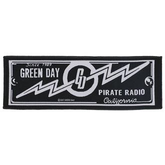 Patch Aufnäher Green Day - Pirate Radio - RAZAMATAZ, RAZAMATAZ, Green Day