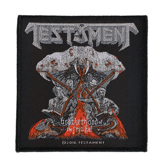 Patch Aufnäher Testament - Brotherhood Of The Snake - RAZAMATAZ, RAZAMATAZ, Testament