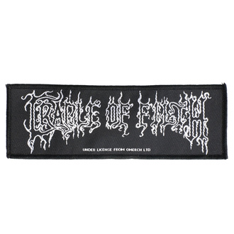 Patch Aufnäher Cradle Of Filth - Logo - RAZAMATAZ, RAZAMATAZ, Cradle of Filth
