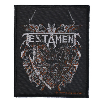 Patch Aufnäher Testament - Shield - RAZAMATAZ, RAZAMATAZ, Testament