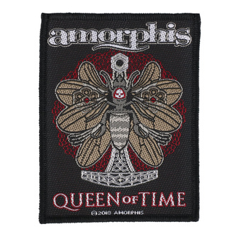 Patch Aufnäher Amorphis - Queen Of Time - RAZAMATAZ, RAZAMATAZ, Amorphis