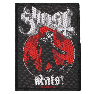 Patch Aufnäher Ghost - Rats - RAZAMATAZ, RAZAMATAZ, Ghost