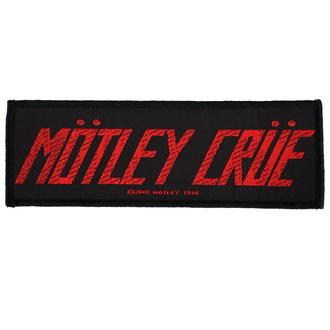 Patch Aufnäher Mötley Crüe - Logo - RAZAMATAZ, RAZAMATAZ, Mötley Crüe