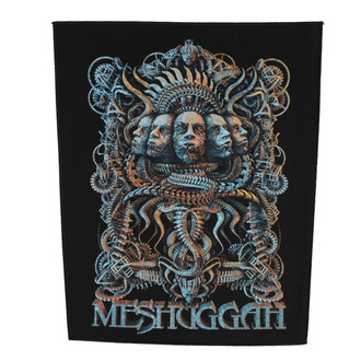 Rückenaufnäher Patch groß Meshuggah - 5 Faces - RAZAMATAZ, RAZAMATAZ, Meshuggah