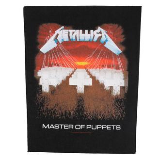 Rückenaufnäher Patch groß Metallica - Master Of Puppets - RAZAMATAZ, RAZAMATAZ, Metallica