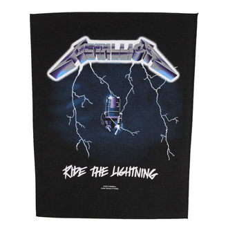 Rückenaufnäher Patch groß Metallica - Ride The Lightning - RAZAMATAZ, RAZAMATAZ, Metallica