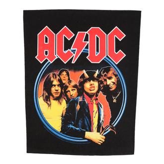Rückenaufnäher Patch groß AC / DC - Highway To Hell - RAZAMATAZ, RAZAMATAZ, AC-DC