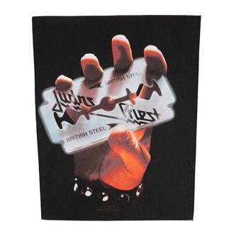 Rückenaufnäher Patch groß Judas Priest - British Steel - RAZAMATAZ, RAZAMATAZ, Judas Priest