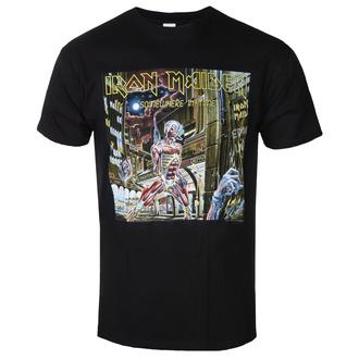 Herren T-Shirt Metal Iron Maiden - Somewhere In Time - ROCK OFF, ROCK OFF, Iron Maiden