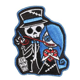 Patch zum Aufbügeln (Patch) AKUMU INK - Stitch Me a Smile, Akumu Ink