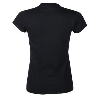 Damen T-Shirt Metal Kiss - Logo Diamante - ROCK OFF, ROCK OFF, Kiss