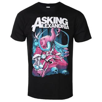Herren T-Shirt Metal Asking Alexandria - Packaged Devour - ROCK OFF, ROCK OFF, Asking Alexandria