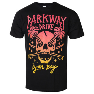 Herren T-Shirt Metal Parkway Drive - Skull Palms - KINGS ROAD, KINGS ROAD, Parkway Drive
