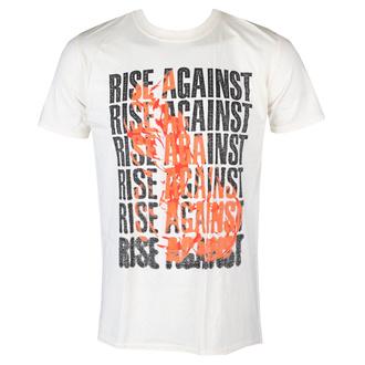 Herren T-Shirt Metal Rise Against - Flame - KINGS ROAD, KINGS ROAD, Rise Against