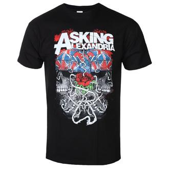 Herren T-Shirt Metal Asking Alexandria - ROCK OFF - ROCK OFF, ROCK OFF, Asking Alexandria