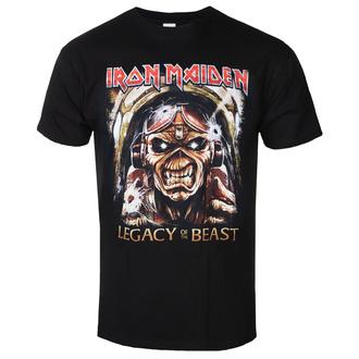 Herren T-Shirt Metal Iron Maiden - Legacy - ROCK OFF, ROCK OFF, Iron Maiden