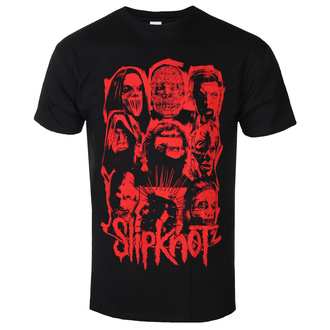 Herren T-Shirt Metal Slipknot - WANYK Red - ROCK OFF, ROCK OFF, Slipknot