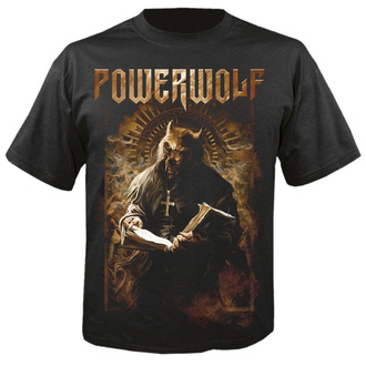 Herren T-Shirt Metal Powerwolf - Stossgebet - NUCLEAR BLAST, NUCLEAR BLAST, Powerwolf