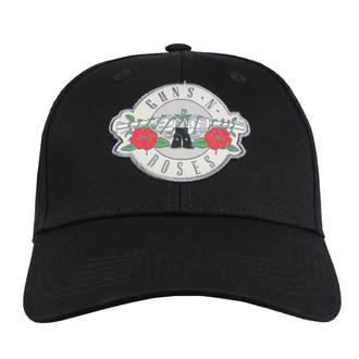 Kappe Cap Guns N' Roses - Silver Circle Logo - ROCK OFF, ROCK OFF, Guns N' Roses