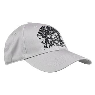 Kappe Cap Queen - Black Classic - GRAU - ROCK OFF, ROCK OFF, Queen
