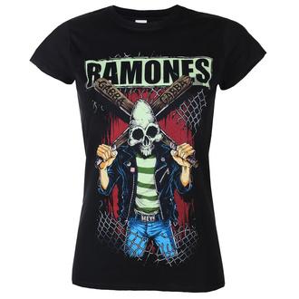 Damen T-Shirt Metal Ramones - GABBA GABBA HEY - PLASTIC HEAD, PLASTIC HEAD, Ramones