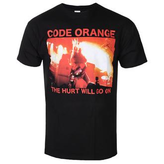 Herren T-Shirt Metal Code Orange - RED HURT PHOTO - PLASTIC HEAD, PLASTIC HEAD, Code Orange