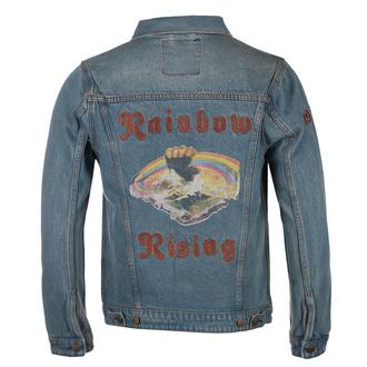 Herren Jeansjacke Rainbow - CAPRICORN ROCKWEAR - blau, CAPRICORN ROCKWEAR, Rainbow
