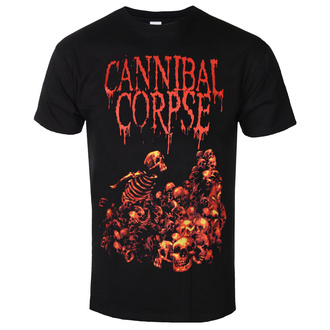 Herren T-Shirt Metal Cannibal Corpse - PILE OF SKULLS - PLASTIC HEAD, PLASTIC HEAD, Cannibal Corpse