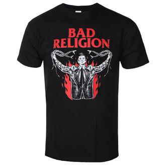 Herren T-Shirt Metal Bad Religion - SNAKE PREACHER - PLASTIC HEAD, PLASTIC HEAD, Bad Religion