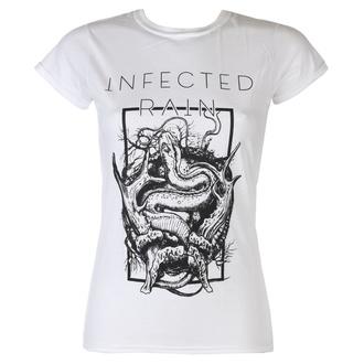 Damen T-Shirt Metal Infected Rain - The Earth Mantra - NAPALM RECORDS, NAPALM RECORDS, Infected Rain
