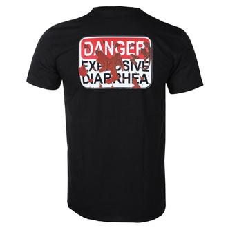 Herren T-Shirt Metal Gutalax - Poop - ROTTEN ROLL REX, ROTTEN ROLL REX, Gutalax