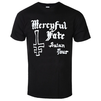 Herren T-Shirt Metal Mercyful Fate - SATAN TOUR 1982 - PLASTIC HEAD, PLASTIC HEAD, Mercyful Fate