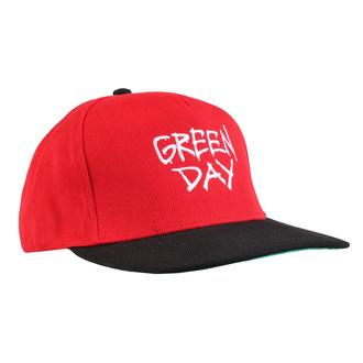 Kappe Cap GREEN DAY - RADIO HAT - PLASTIC HEAD, PLASTIC HEAD, Green Day
