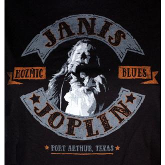 Damen T-Shirt Metal Janis Joplin - KOZMIC BLUES - LIQUID BLUE, LIQUID BLUE, Janis Joplin