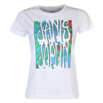 Damen T-Shirt Metal Janis Joplin - JANIS PEARL - LIQUID BLUE, LIQUID BLUE, Janis Joplin